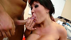 Claire Dames, Blowjob, Brunette, Costume, Dominatrix, Experienced