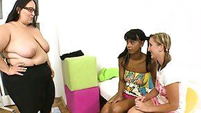 Kira Black, 3some, BBW, Black BBW, Black Lesbian, Black Orgy