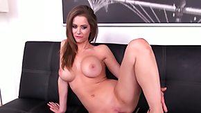 Emily Addison, Big Pussy, Big Tits, Boobs, Dildo, Masturbation