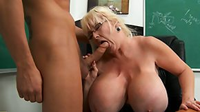 Free Kayla Kleevage HD porn videos Kayla Kleevage is charmed by her new student so that sweetie blows him
