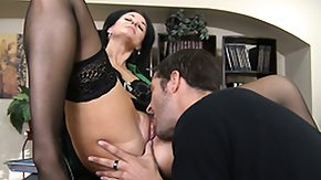 India Summer, Blowjob, Brunette, Double, Hardcore, Leggings