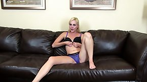 Ashley Stone, Audition, Blonde, Casting, Cumshot, Interview