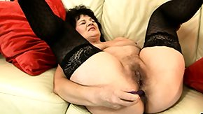 Old Lady, Anal, Anal Toys, Assfucking, Asshole, Big Tits