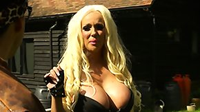 Standing, Babe, Big Tits, Blonde, Boobs, Female Ejaculation