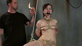 Tied Up, Babe, BDSM, Bound, Choking, Hogtied
