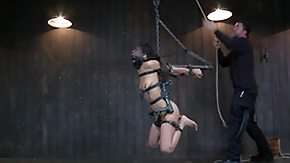 HD Extreme Torture tube hispanic extremely whorish girl hanged and tortured