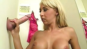Jessica Lynn, Blonde, Blowjob, Changing Room, Cumshot, Dressing Room