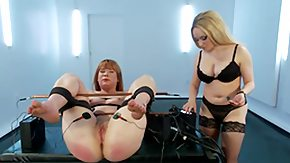 Slave, BDSM, Blonde, Dominatrix, Electro, MILF