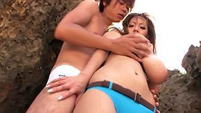 Tanaka, Asian Granny, Asian Mature, Asian Old and Young, Beach, Beach Sex