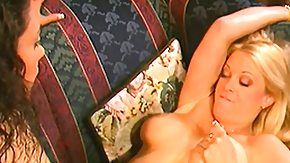 HD Brooke Hunter Sex Tube Brooke Hunter gets her lesbian pussy licked and fingered, then they fuck with a double sided dildo