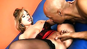 Ashley Coda, Big Black Cock, Big Cock, Blonde, Blowjob, Cumshot